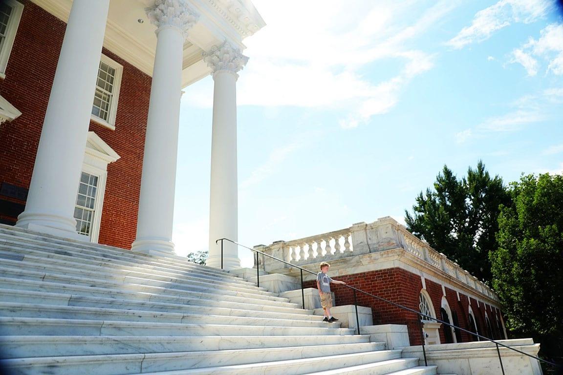 University of Virginia in Charlottesville Virginia- UVA