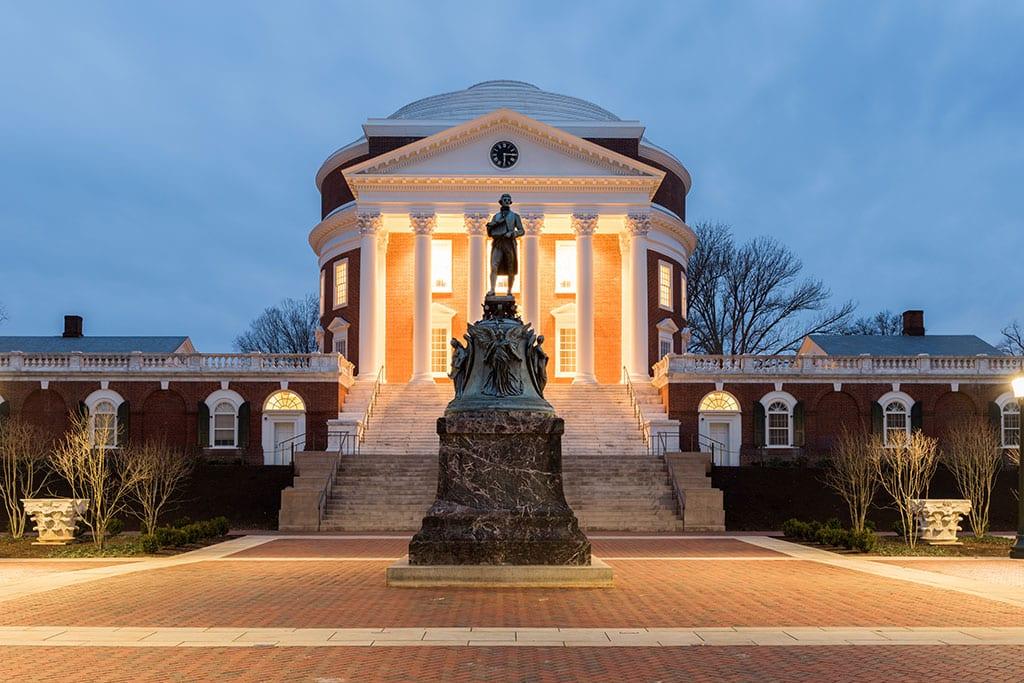 University of Virginia in Charlottesville Virginia