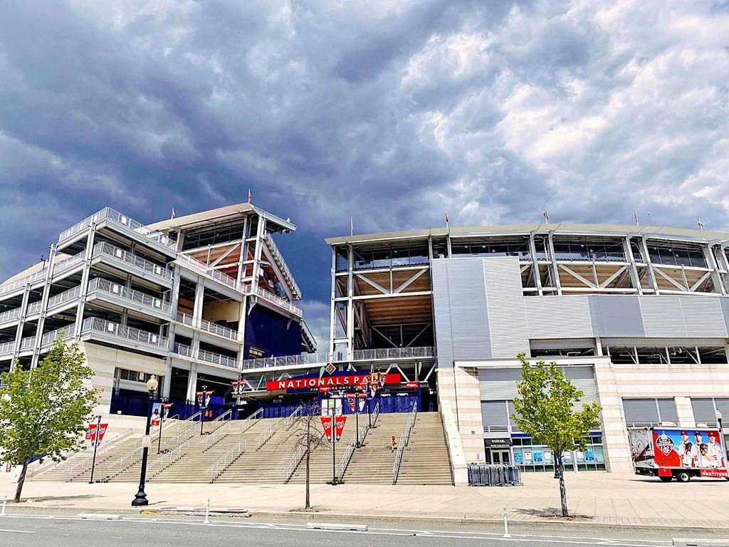 Nationals Baseball stadium in Navy Yard Washington DC
