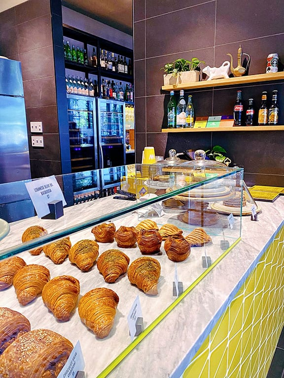 Yellow Cafe, part of Albi, in the Yards Washington DC - Navy Yard Restaurants