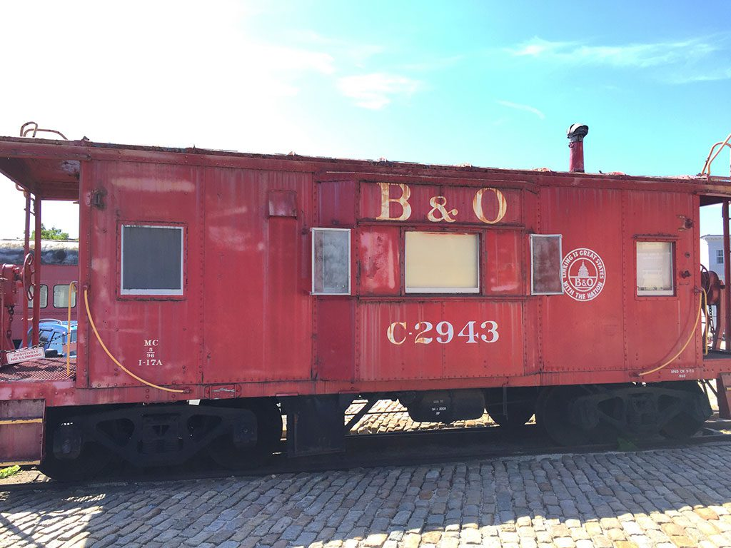 B&O Railroad Museum in Baltimore Maryland