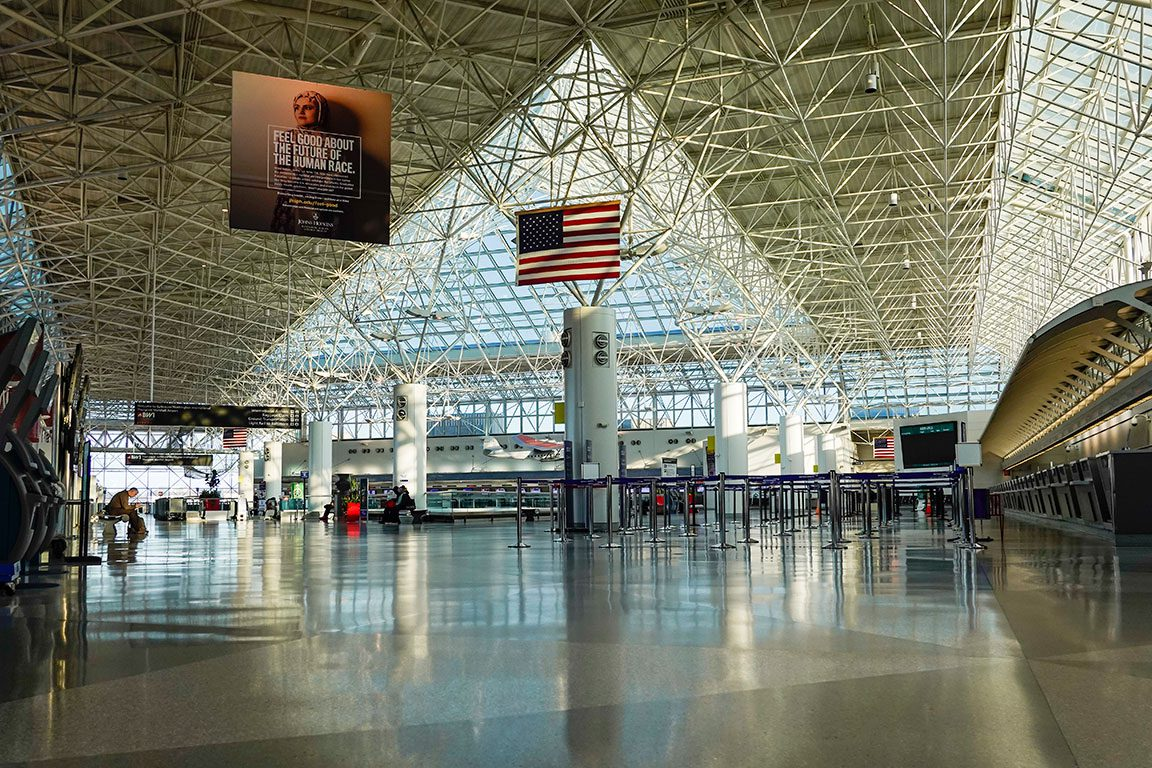 BWI Baltimore Airport in Maryland