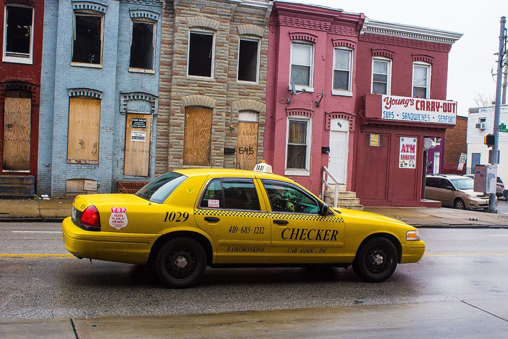 Baltimore Taxi Cab in Maryland