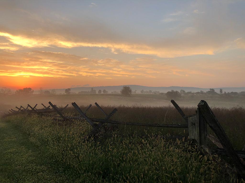Antietam National Battlefield in Maryland