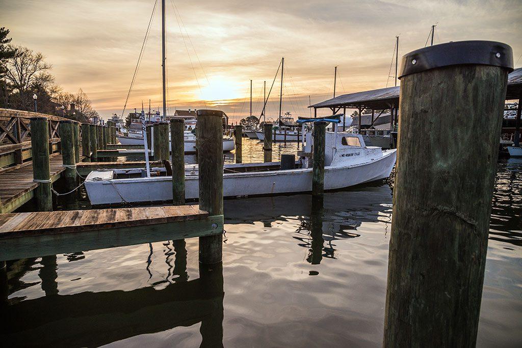 St. Michaels Maryland marina