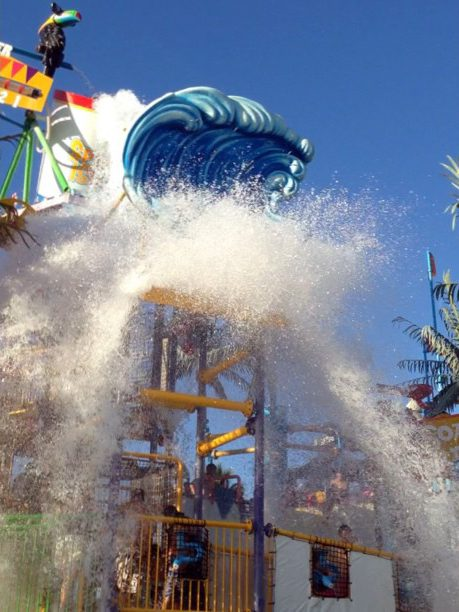 Hurricane Harbor at Six Flags in Maryland water park