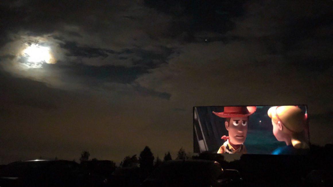 drive in movie theater in va