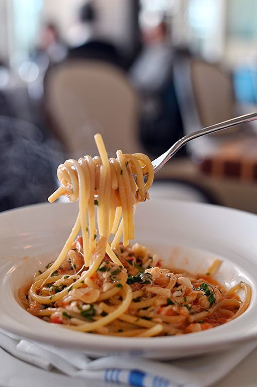 Capitol Hill Restaurants and Washington DC restaurants crab pasta