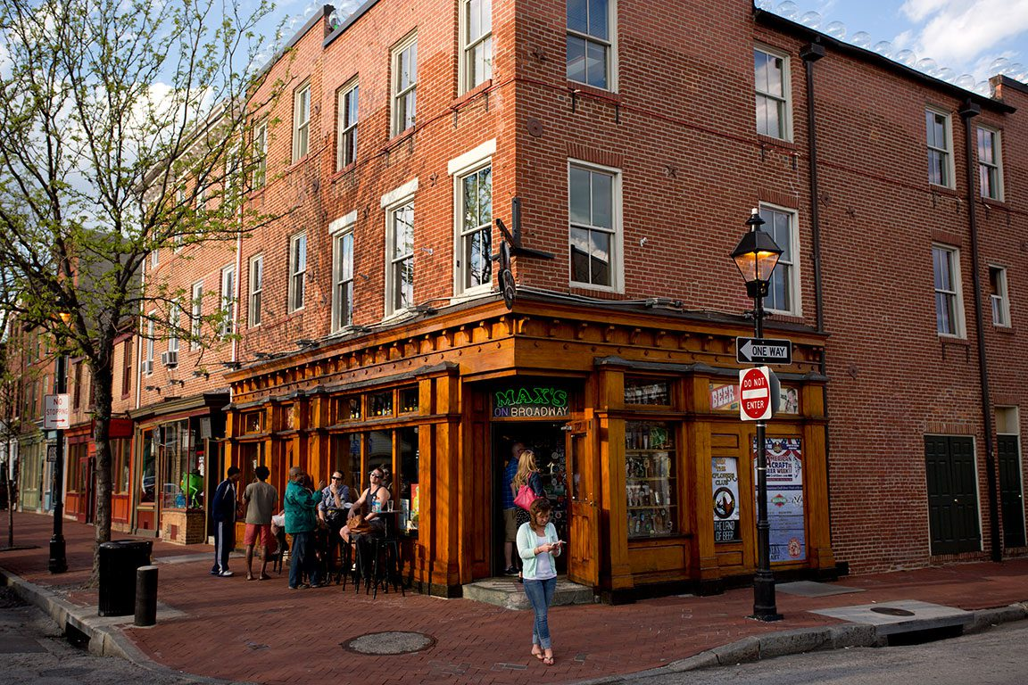 Max's Tavern in Baltimore Maryland