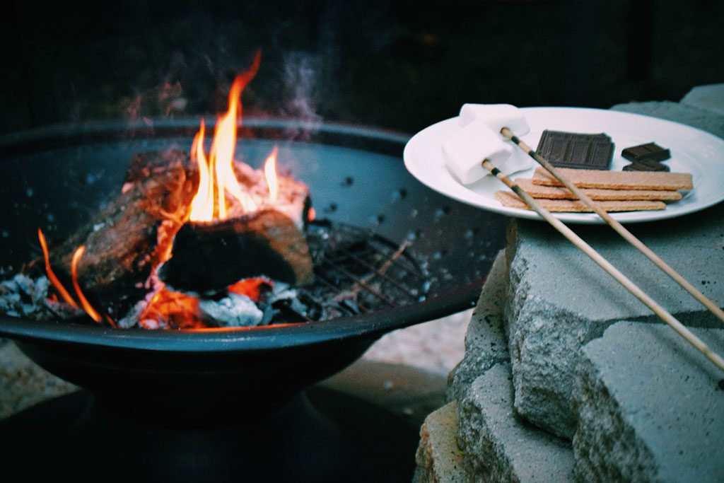 campfire in Baltimore MD