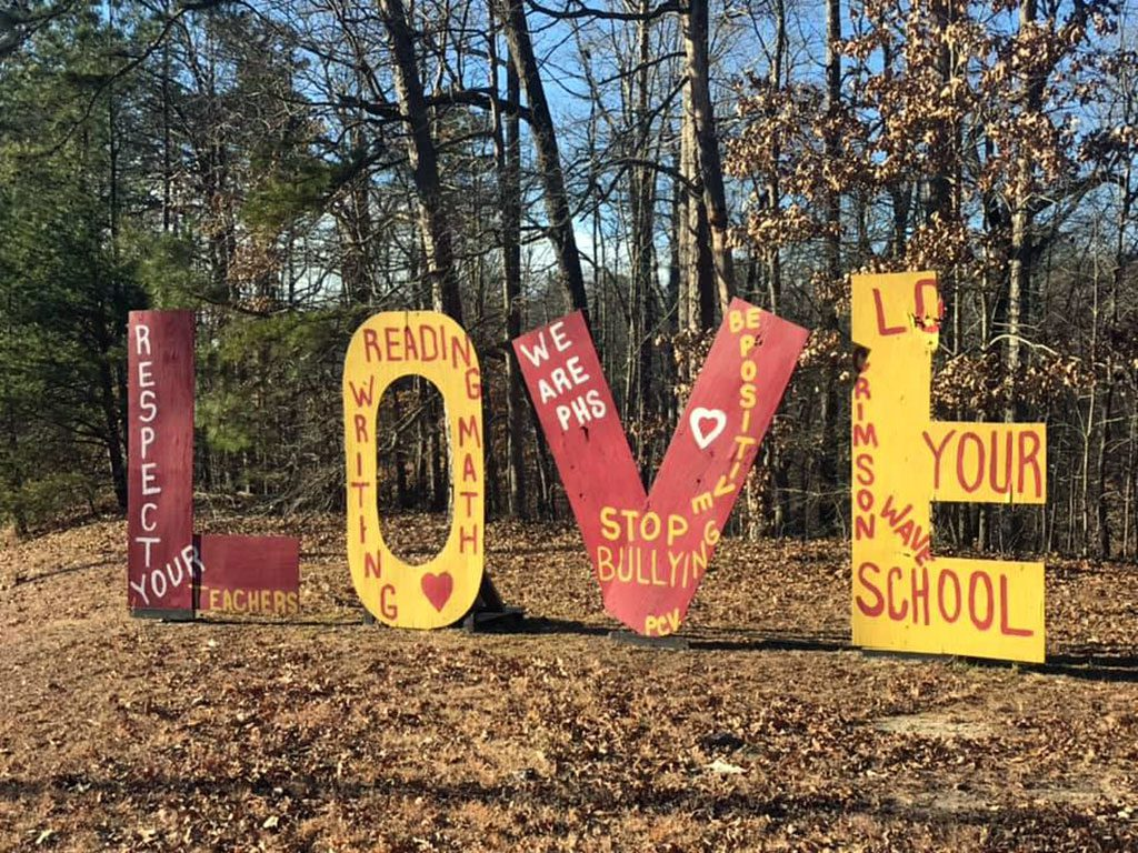 Virginia LOVE signs - Richmond VA