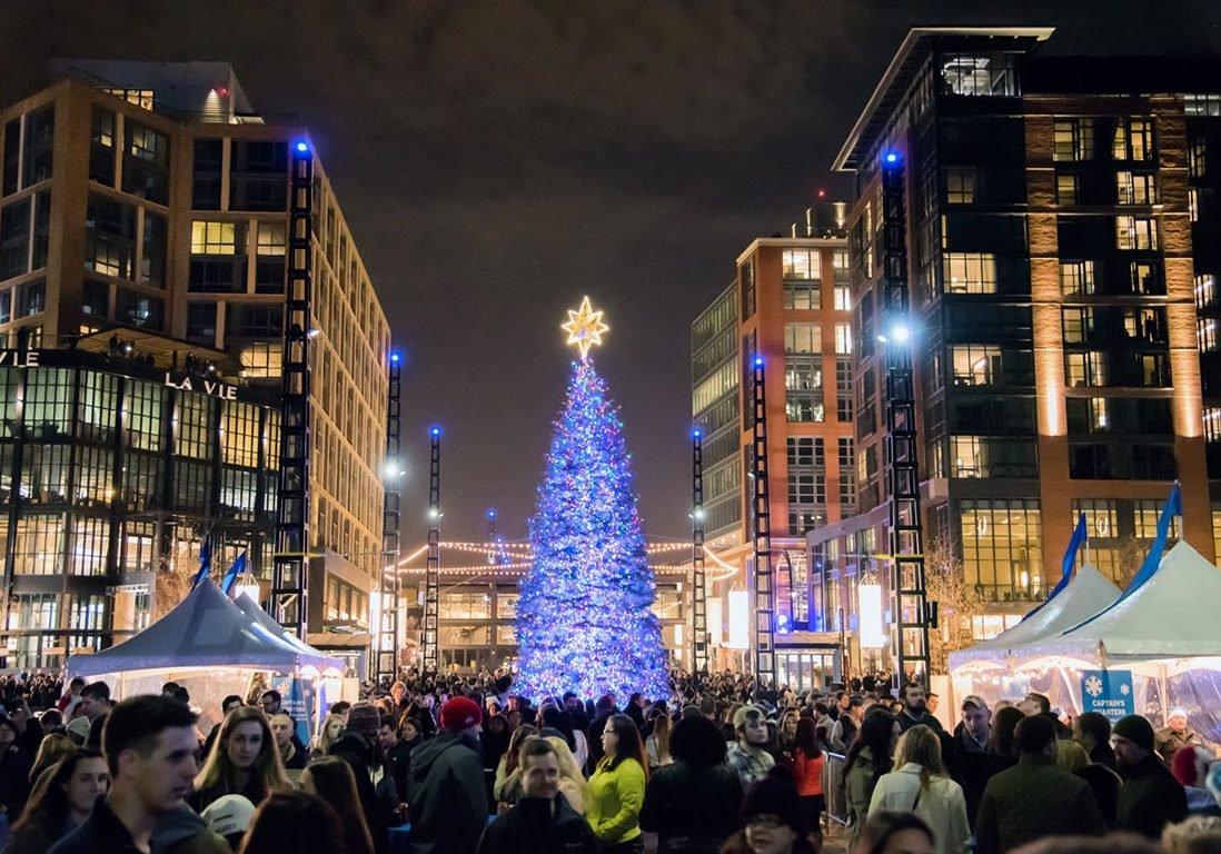The Wharf Washington DC Christmas